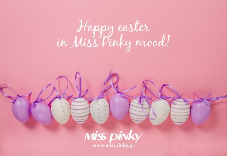 Happy Easter in Miss Pinky mood!