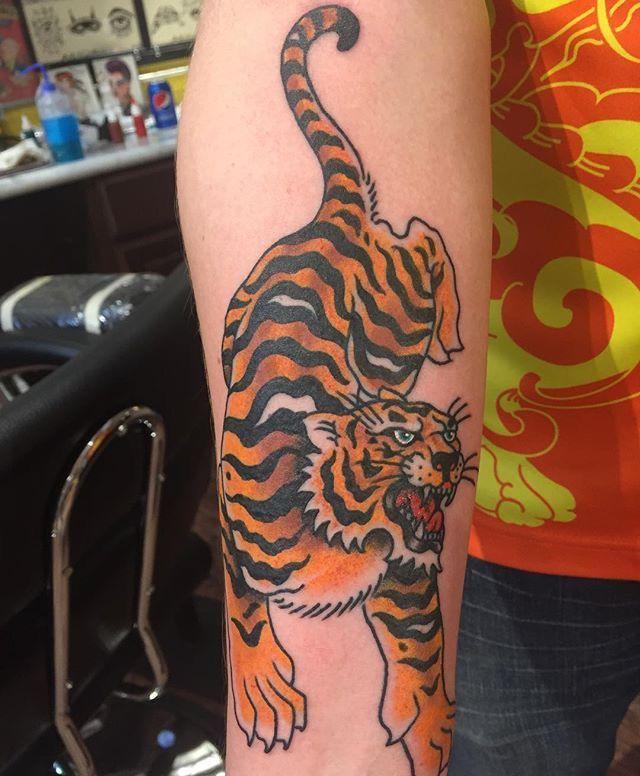 Tiger by Tilt at New Life Tattoo