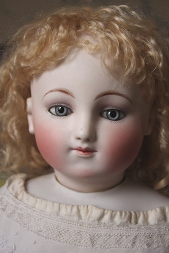 "early 21"" Steiner with motchman type body,: Antique Dolls Steiner, Porcelain Dolls, Fashion Dolls, Steiner Dolls, Fantastic Dolls, French Dolls, Dolls Room, Dolls Vintage, Porcelain Dolls"
