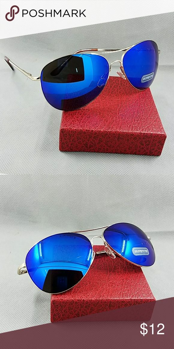 2017 NEW AVIATOR UNISEX STYLE TRENDY SUNGLASSES 2017 NEW AVIATOR UNISEX STYLE TRENDY SUNGLASSES  TRENDY  STYLE  MIRROR WOMAN SUNGLASSES  Very high quality fashion and very trendy 100% uv400 protection  Aldo check on my closet for latex waist tráiner butt lifter padded panty tummy control clincher corset vest neoprene pants and shirt phone covers bags swimsuit bikini summer beach cover up black pink blue beige white gold silver chain watch necklace   58mm silver blue lens Accessories…
