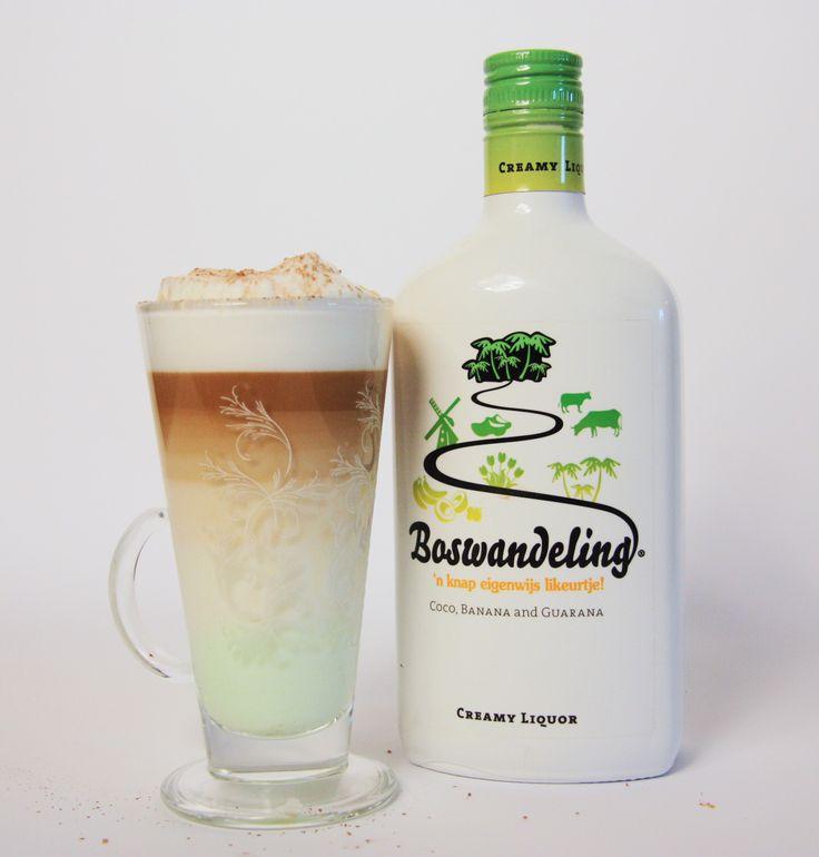 Er gaat niets boven een latte macchiato die gemixt is met een lekker laagje Boswandeling! We call it; Dutch Coffee.