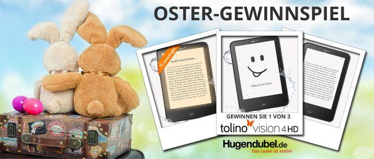 Ostergewinnspiel Bucher Reisen. Gewinne mit etwas Glück ein tolino vision 4HD