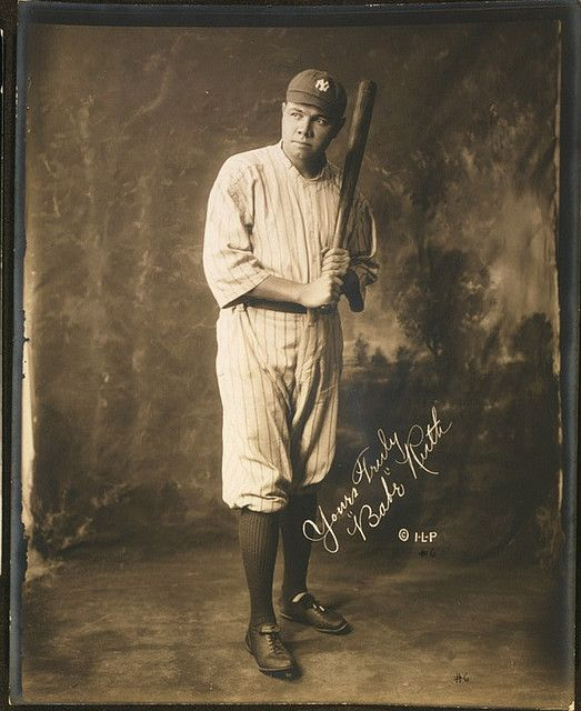Babe Ruth you can't pin baseball with out this man. and for me he was a man of interest and alway will be.