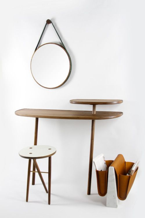Cloud Console is a minimalist design created by England-based designer Gautier Pelegrin. Two tier wall supported console table. Perfect for ...                                                                                                                             More