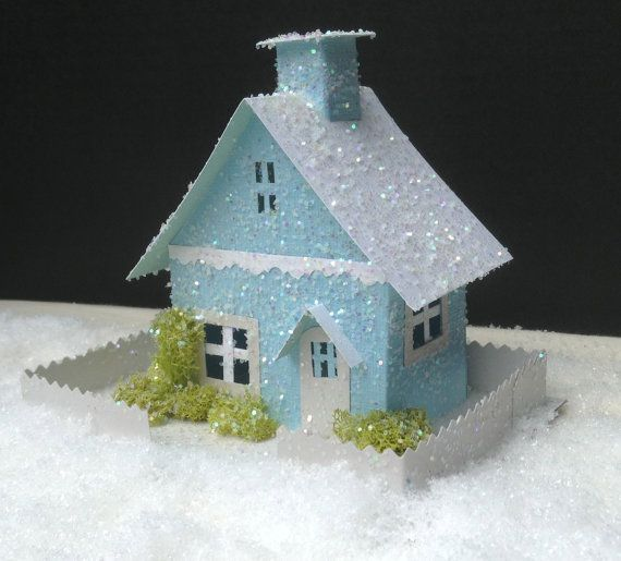 1000+ images about Paper Christmas Houses on Pinterest ...