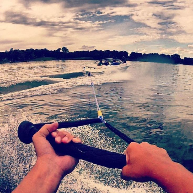 GoPro or Go Home :) #wakeboard #summer #gopro