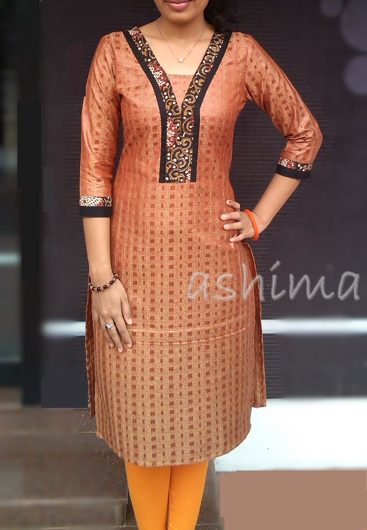 Code:1311150-Jute Finished Silk Cotton Kurta With Kalamkari Price INR:890/- All sizes available./ Free shipping to all courier destinations in India. Online payment through PayUMoney / PayPal