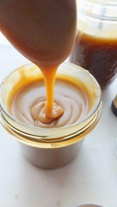 Salsa Butterscotch o salsa toffee salado
