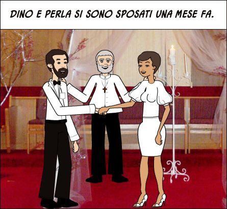 """verbo riflessivo """"sposarsi"""" alla 3a pers. plurale (i verbi riflessivi al passato prossimo si formano con l'ausiliare """"essere"""")"""