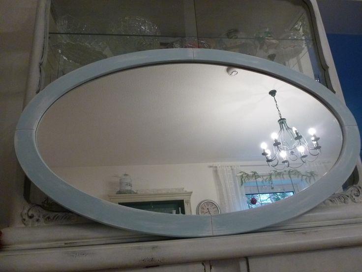 """Spiegel - Spiegel """"Seegrün"""" - ein Designerstück von olja-123 bei DaWanda"""