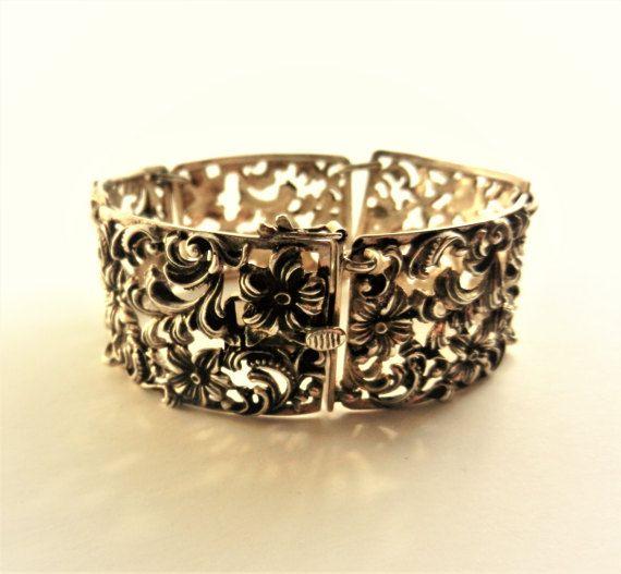 Fabulous Bracelet opulent Art Nouveau revival by RAKcreations