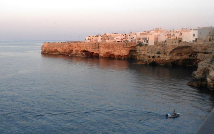 Beautiful landscape of coastwise-town in South Italy... (photo by me)