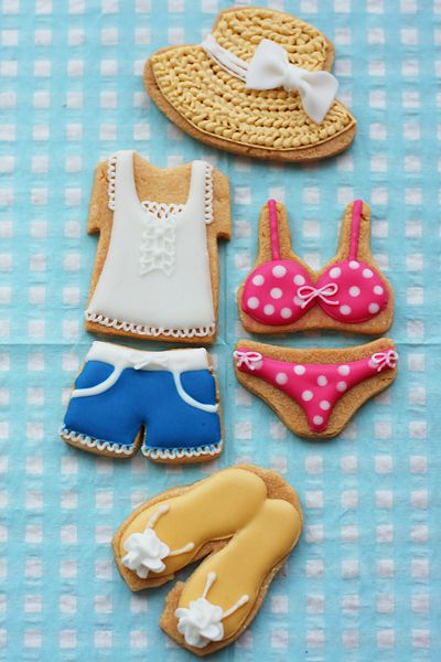 Summer Cookies Repinned By:#TheCookieCutterCompany