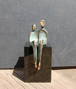 romantic bronze sculpture! by Yenny Cocq