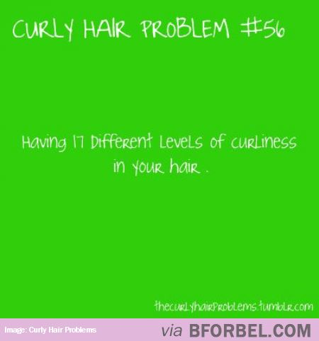 Curly Hair Problem- Levels Of Curliness…