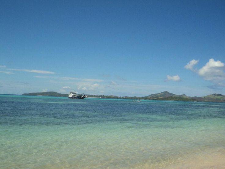 Beautiful crystal clear water, Fiji, Yasawa Islands