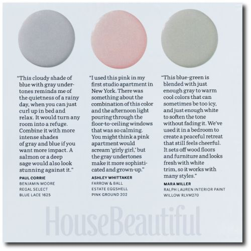 House Beautiful Paint Color Experts 12 Swedish Gustavian Colors Designers Picks