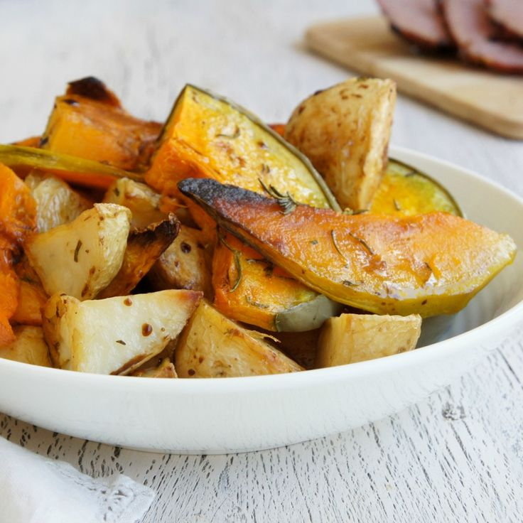 These delicious Roast Vegetables with Balsamic Vinegar by Pamella are perfection.