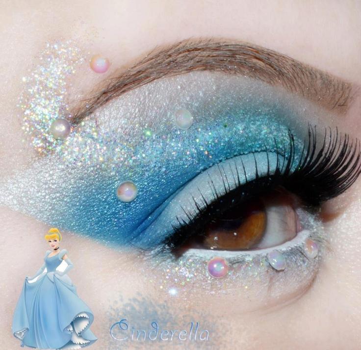 Gloss de Pimenta Rosa: Makes Inspiradas nas Princesas Disney
