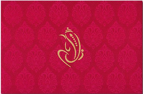 A truly stunning designer invitation is made from finest quality fabric materials, contains nice background paisley effect all over, while text can customized on it as per individual requirements…it's superb! Note: It can be customized as per your requirement.