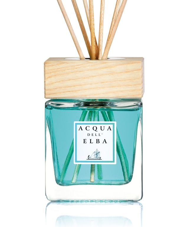The Mare home fragrance diffuser will have your home smelling like the Mediterranean sea. Specially handcrafted on the island of Elba in Tuscany.