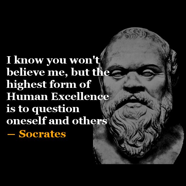 Socrates Quotes   Socrates   Quote of the Day #3   Few Seconds Inspiration