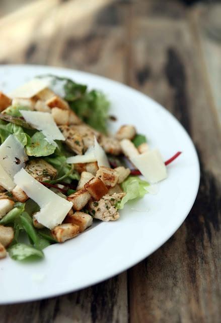sabrinasue: caesar´s summer salad
