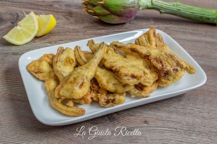 Carciofi fritti in pastella - La Giusta Ricetta - Ricette semplici di cucinaLa Giusta Ricetta – Ricette semplici di cucina