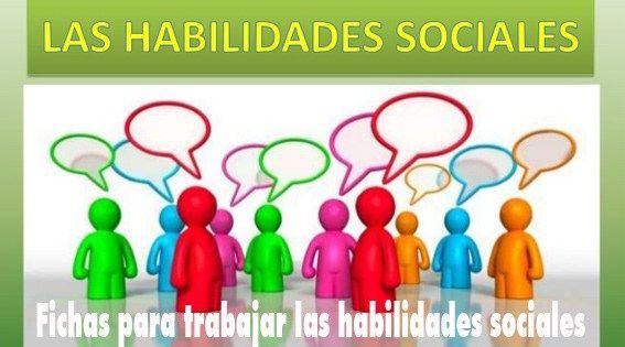 Fichas para trabajar las habilidades sociales en niños y niñas