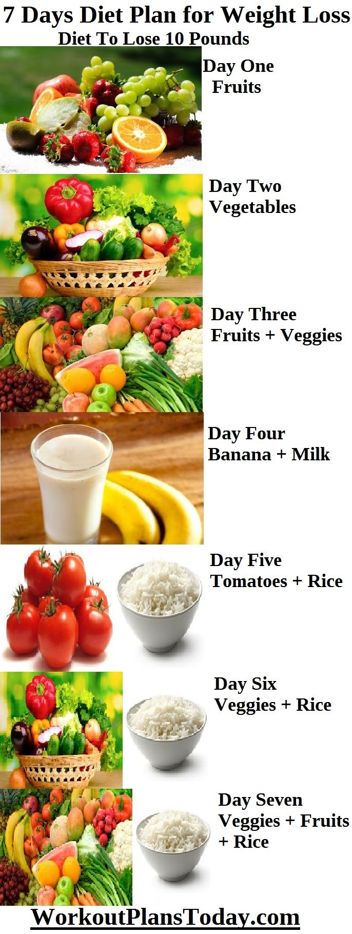 weight loss diet 9 kg for 7 days