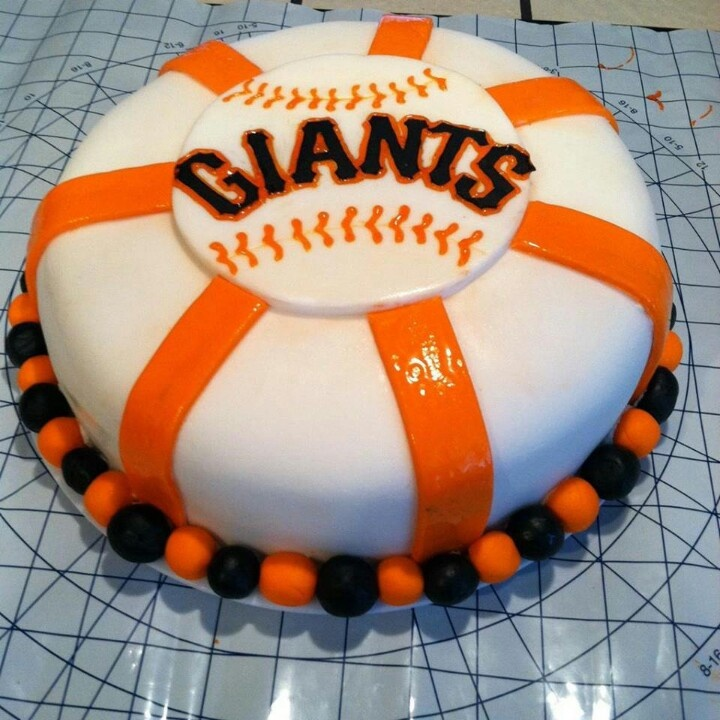 Birthday Cake Design San Francisco : Giants cake! Baseball cake Pinterest Cakes and Giant ...