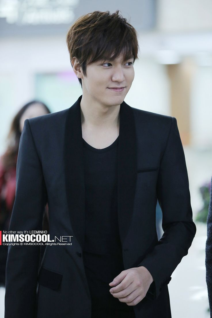 2014-3-17 at Gimpo Airport from Shanghai | Lee Min Ho