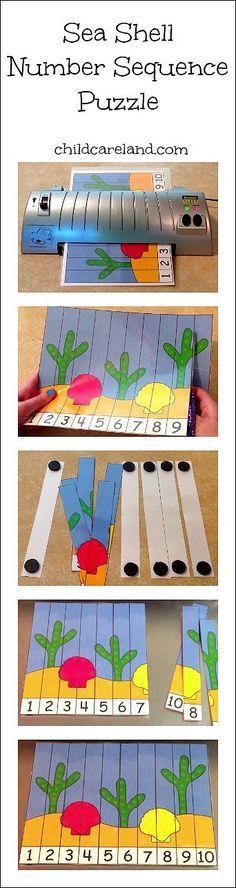 Esta idea me ha parecido muy buena, ya que es fácil de realizar para los docentes. Y con ella los niños/as pondrán trabajar de forma divertida las secuencias, realizando un puzzle.