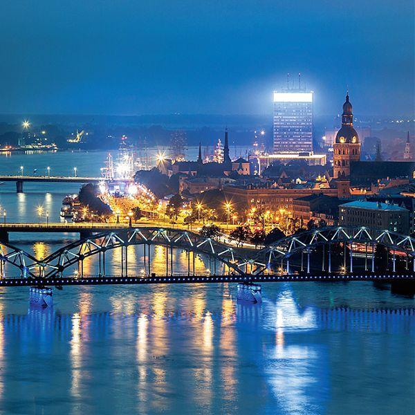 Taking off in Riga