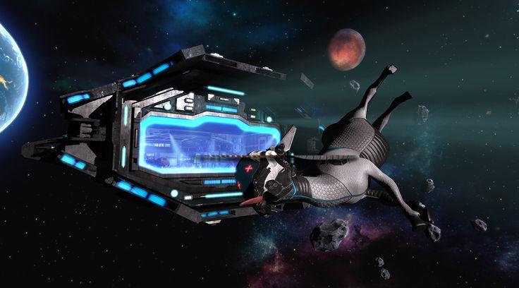 Goat Simulator: Waste of Space Trailer Parodies Mass Effect, Star Wars - http://gamerant.com/?p=304152