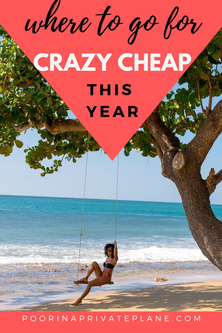 Cheap Places to Travel (2019
