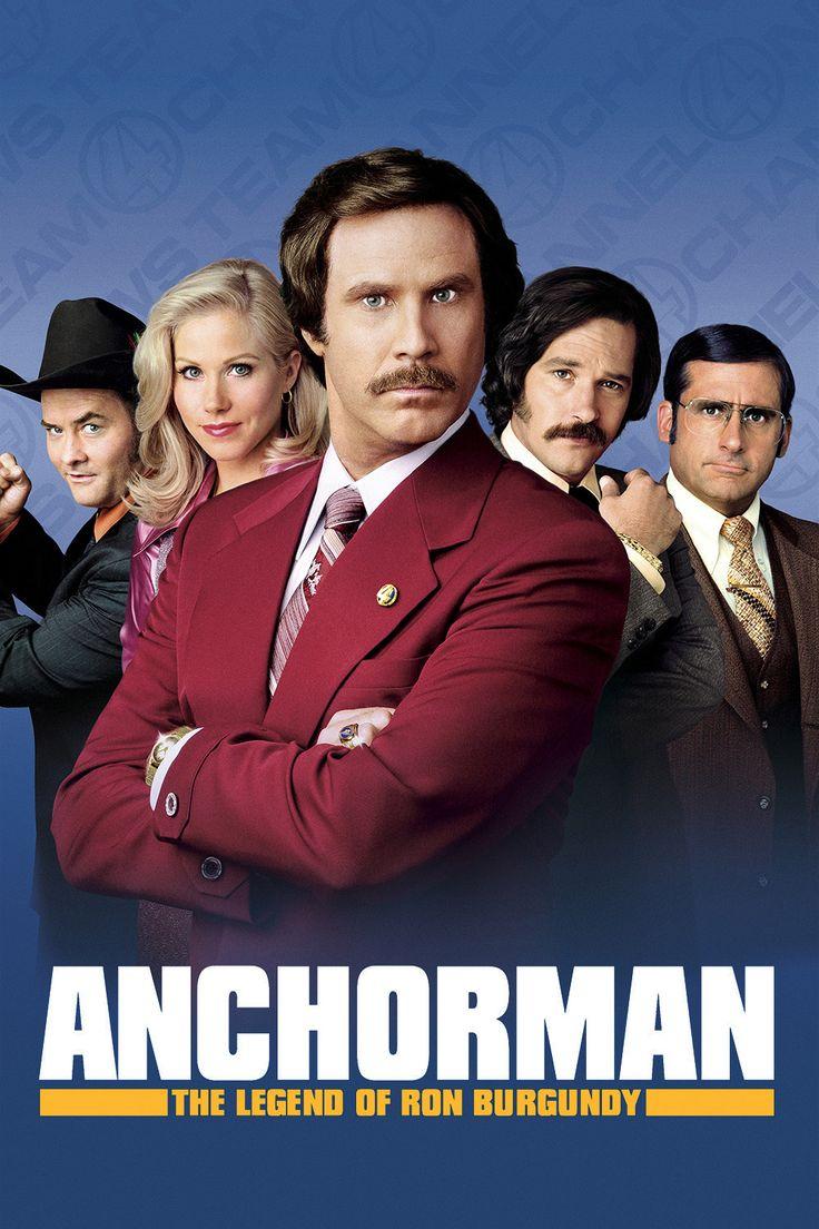 Anchorman: The Legend of Ron Burgundy Movie Poster http://ift.tt/2DVKORo