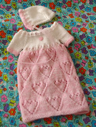 268 best babies born asleep and preemie baby crochet and knit ravelry heart2heart gown pattern by marymglynn dt1010fo