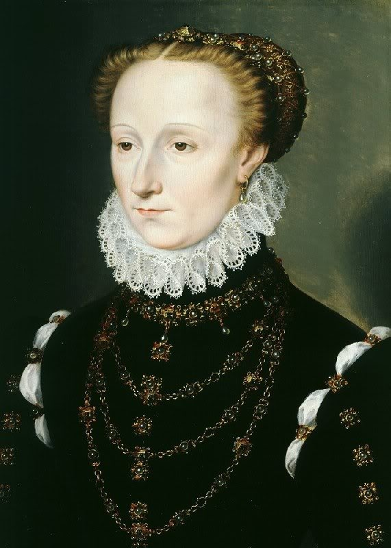 1570 Madeleine le Clerc du Tremblay by Clouet (Weiss Gallery, sold - current location unknown)