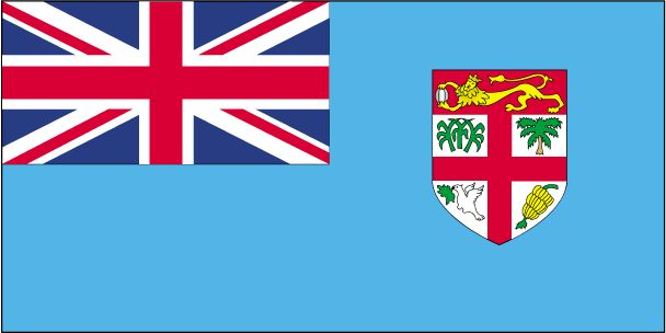 Country Flags: Fiji Flag