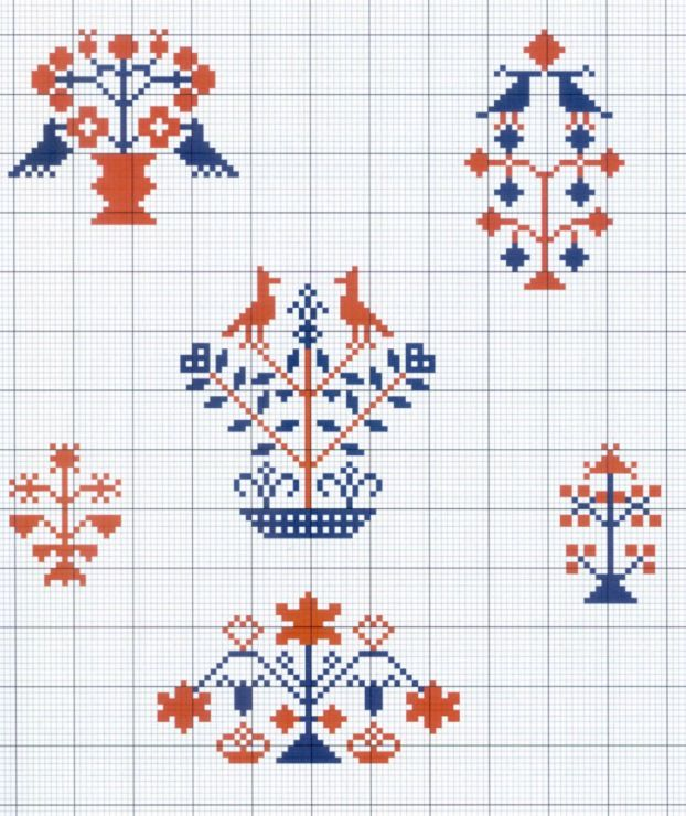 Gallery.ru / Фото #9 - Motif scandinaves traditionnel - Mongia