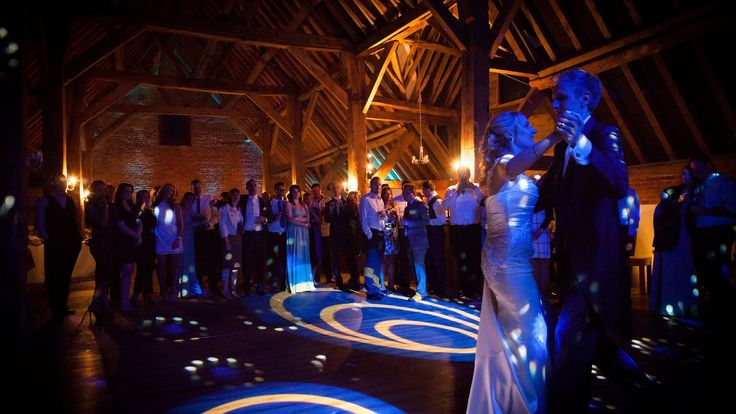 A selection of first dance videos with stylish lighting.