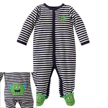 Carter's Striped Monster French Terry Sleep & Play 	 	 	 	                  	 	 	  	 	 	 	 	 	 	 	 	out of stock 	 	 	 	  				 		 			 			 			 			 				 					               ...