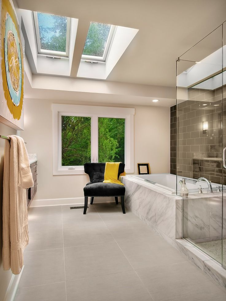 Bathroom Skylight Design, Pictures, Remodel, Decor And Ideas
