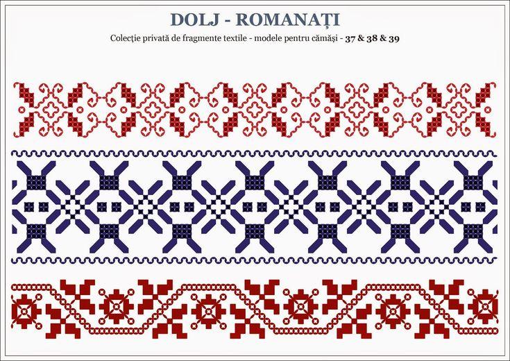 motive traditionale romanesti - OLTENIA, Dolj / Romanati