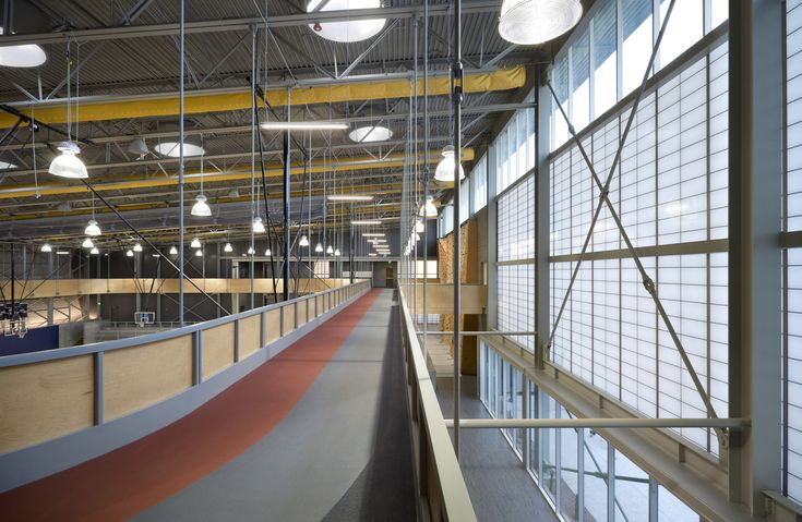 Gallery of Sport and Fitness Center for Disabled People / Baldinger Architectural Studio - 19