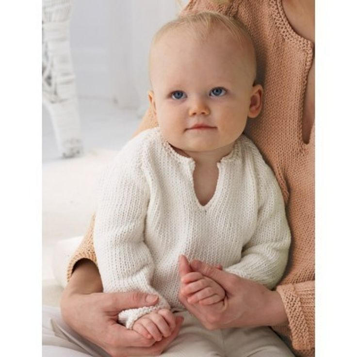 Baby's Pullover in Bernat Satin. Discover more Patterns by Bernat at LoveKnitting. The world's largest range of knitting supplies - we stock patterns, yarn, needles and books from all of your favorite brands.
