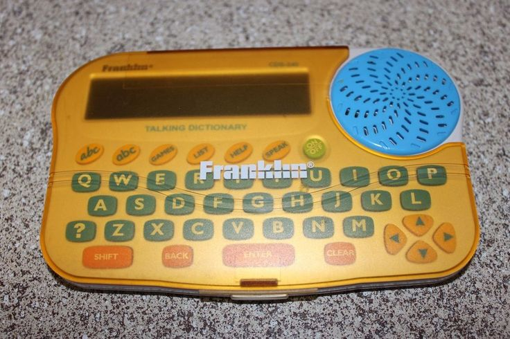 FRANKLIN CDS-240 TALKING DICTIONARY - SPELLING CORRECTOR  #Franklin
