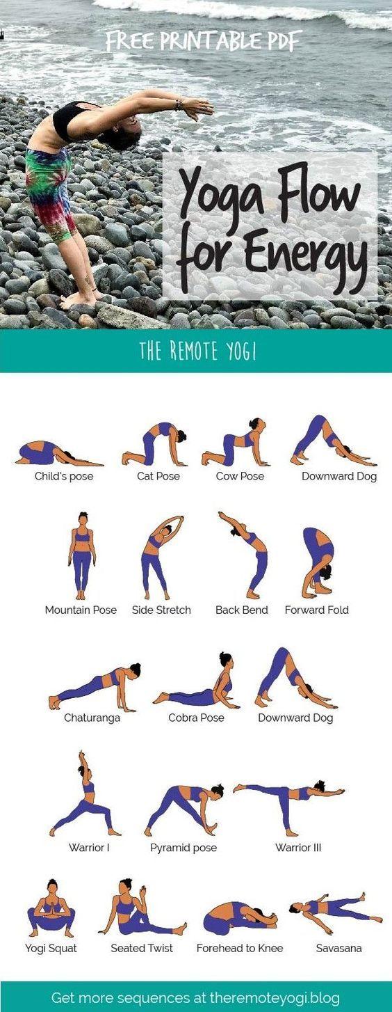 Energizing Morning Yoga Routine – Free PDF – Karin Ritter