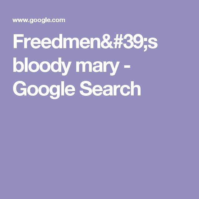 73 best finished fun todos images on pinterest books summer freedmens bloody mary google search fandeluxe Images
